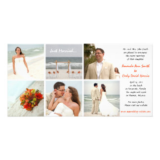 Custom Photo Wedding Announcement Photo Cards