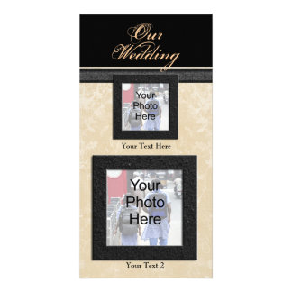 Custom Photo Wedding Card, Classic Photo Cards