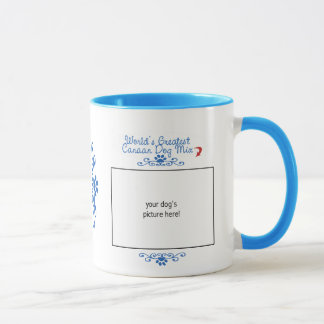 Custom Photo! Worlds Greatest Canaan Dog Mix Mug