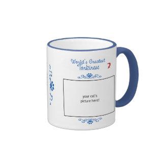 Custom Photo! Worlds Greatest Tonkinese Ringer Mug