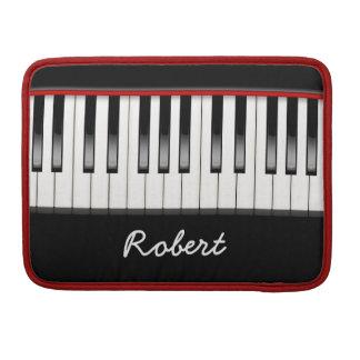 Custom Piano 13 Inch Macbook Pro Flap Sleeve