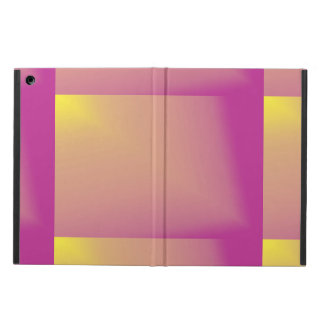 Custom Pink and Yellow Abstract iPad Mini Case