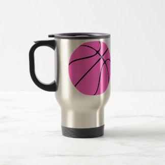 Custom Pink Basketball Mugs