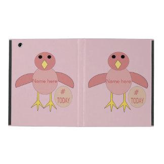 Custom Pink Birthday Girl Chick iPad Case