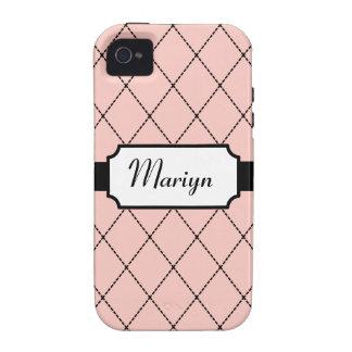 Custom Pink iPhone 4 Case-Mate