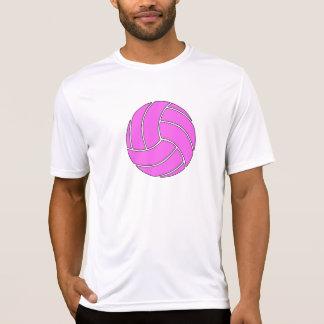 Custom Pink Volleyball T Shirts