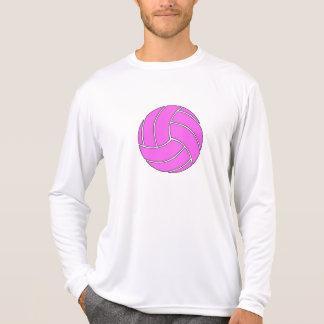 Custom Pink Volleyball T Shirt