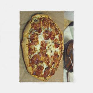 CUSTOM PIZZA FLEECE BLANKET