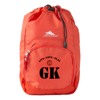 Custom Player Positions Netball Backpack