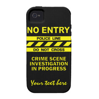 Custom Police Line iPhone 4 Case-Mate iPhone 4/4S Cases