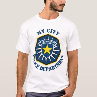 Custom Police Officer Star T-Shirt