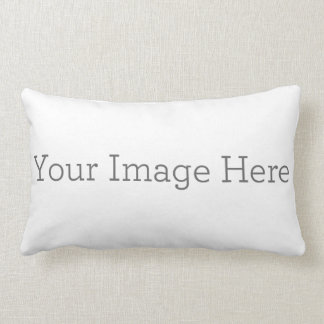 Custom Polyester Lumbar Pillow 13 x 21