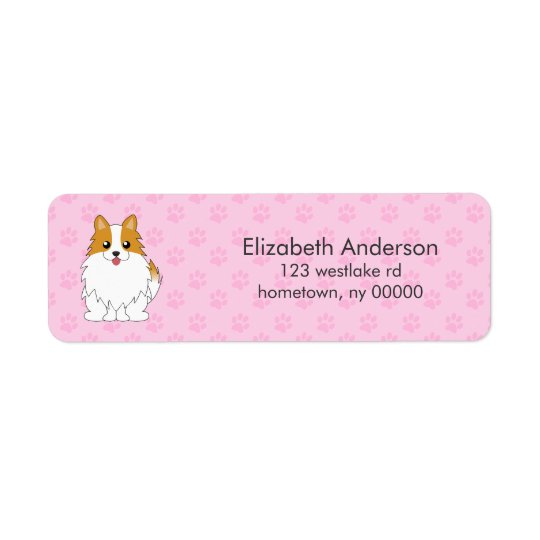 Custom Pomeranian Return Address Label