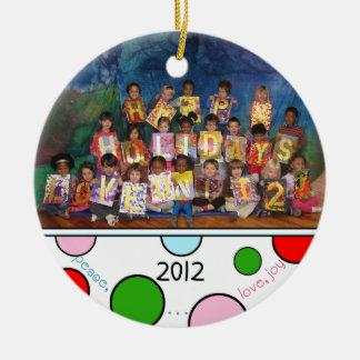 Custom Preschool Holiday Ornament 2
