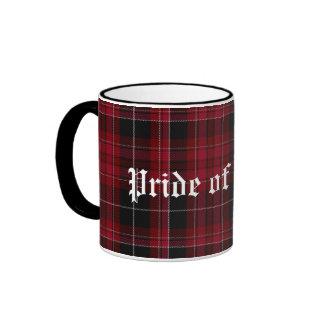 Custom Pride of Wales Tartan Plaid Mug