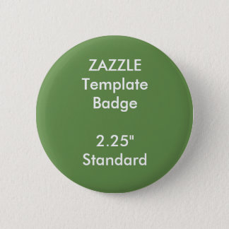 "Custom Print 2.25"" Round Badge Blank Template"