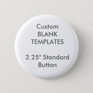"Custom Print 2.25"" Small Button Pin Blank Template"