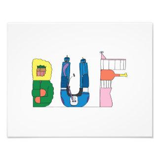 Custom Print | BUFFALO, NY (BUF)