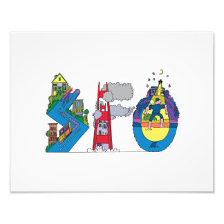 Custom Print | SAN FRANCISCO, CA (SFO)
