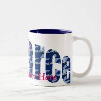 Custom Proud Air Force Mug