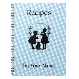 Custom Recipe Book Notebook