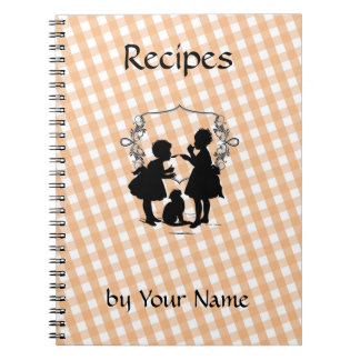 Custom Recipe Book Notebook