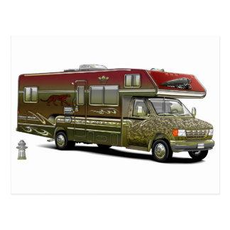 Custom Recreational Vehicle Postcard