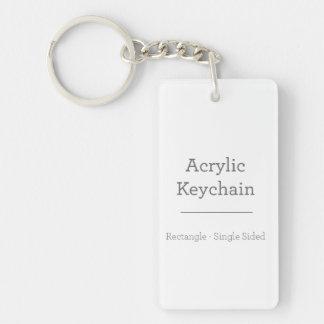 Custom Rectangular Keychain