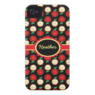 Custom Red Apples iPhone 4 Barely There Case