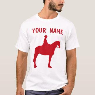 CUSTOM RED HORSE RACING T-Shirt