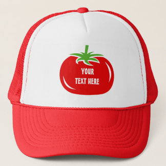 Custom red tomato trucker hat | Funny caps
