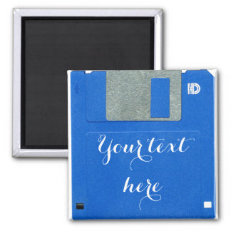 Custom Retro Computer Floppy Disk 3.5 Magnet