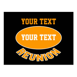 Custom Reunion Post Cards You Can Personalize