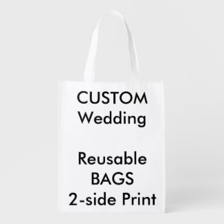 "Custom Reusable Bag 12"" x 16"""