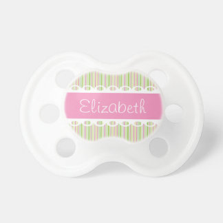 Custom Ribbons and Lace Personalized Pacifier