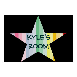 CUSTOM ROOM POSTER..ADD YOUR NAME POSTER