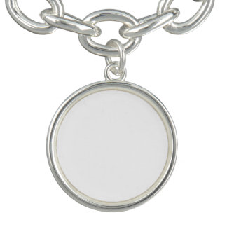 Custom Round Charm Bracelet
