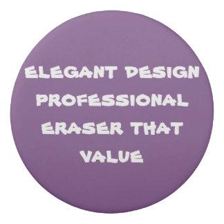 custom round eraser