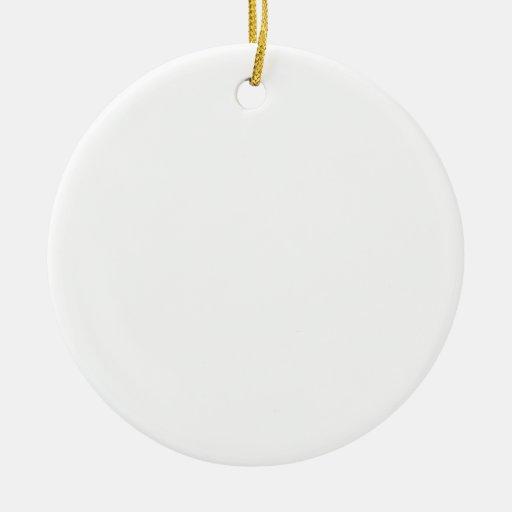 Custom Round Ornament