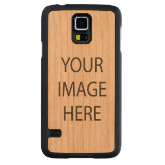 Custom Samsung Galaxy S5 Slim Cherry Wood Case