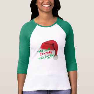 custom santa quotes naughty funny christmas tshirt