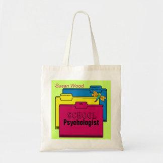 Custom School Psychologist Tote