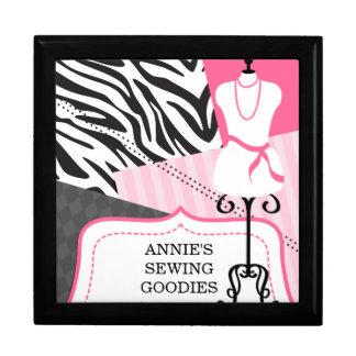 Custom Sewing Keepsake Box