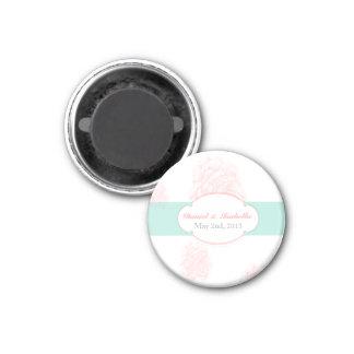 Custom Shabby Chic Wedding Magnet