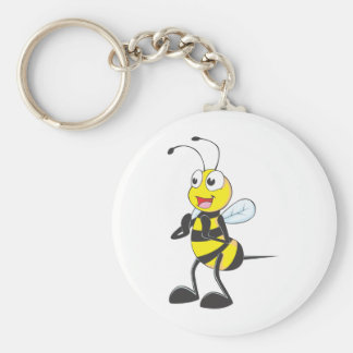 Custom Shirts : Clapping Hands Bee Shirts Basic Round Button Key Ring