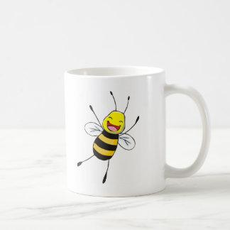 Custom Shirts : Happy Bee Shirts Basic White Mug