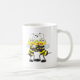 Custom Shirts : Happy Dad Mom Baby Bee Shirts Coffee Mug