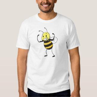 Custom Shirts : Strong Muscular Bee Shirts