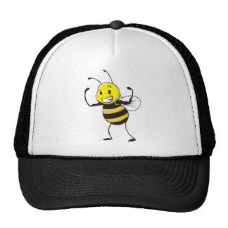 Custom Shirts : Strong Muscular Bee Shirts Mesh Hat