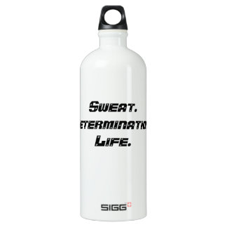 Custom SIGG Water Bottle: Sweat. Water Bottle